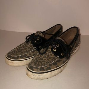 Sperry Top-Sider Women's Animal Print Shoes 8.5